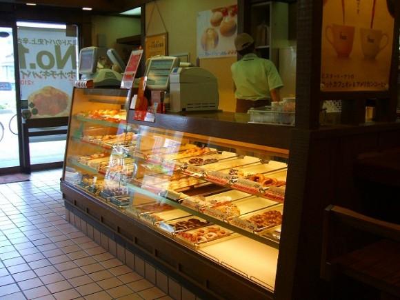 ドーナツ店改装例