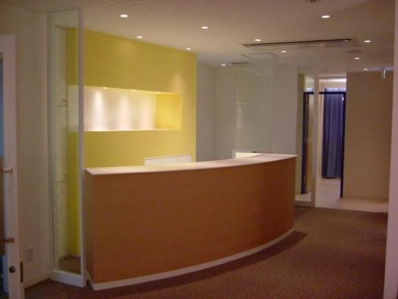エステサロン 店内内装工事及び家具・什器製作、取り付け